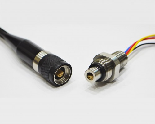 CEEP Subsea / Underwater Min-O Electrical Connectors. Our miniature electrical connector range is a further development of the single way Mini-Coax Connector set, utilising common parts for improved lead times. Currently rated to 3,000m with a 15mm overall connector diameter, this product offers significant space saving benefits. It has been designed to accommodate commercially available single, 2, 3, 4 and 6-way inserts.
