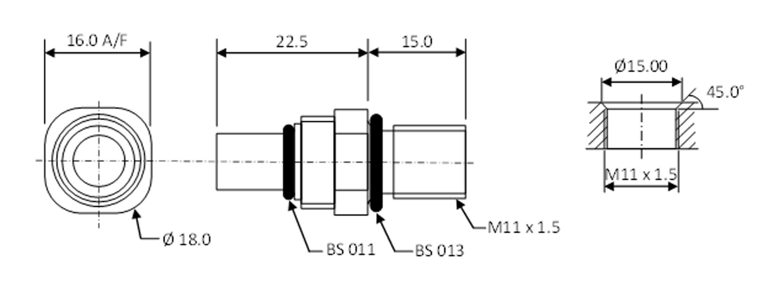 Mino bulkhead dimensions