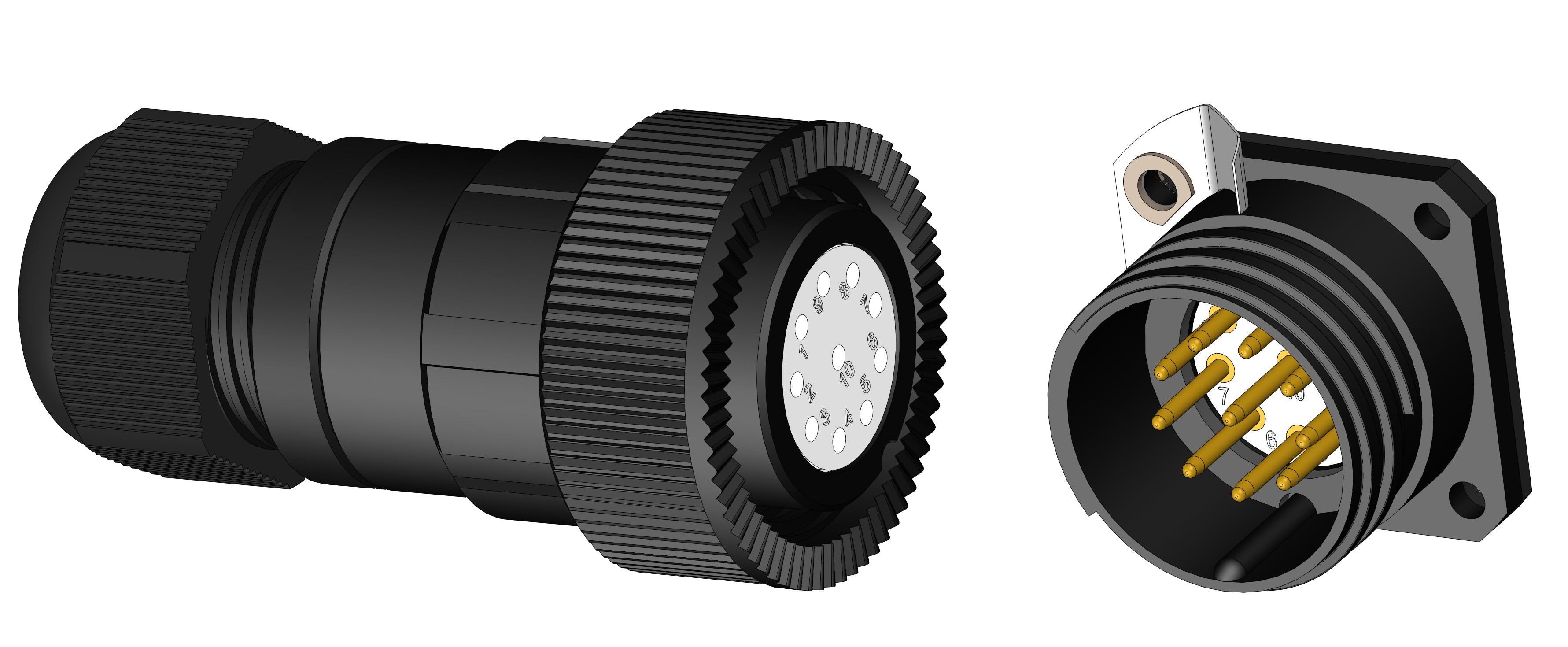 Anti-vibration connectors