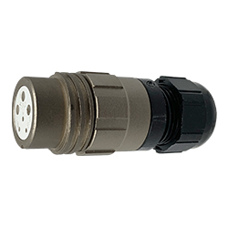 CEEP 920126R000SA00, 26R, 6 pin female inline connector, without locking ring.