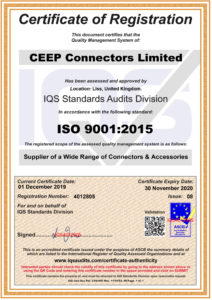 CEEP ISO Certificate click to view