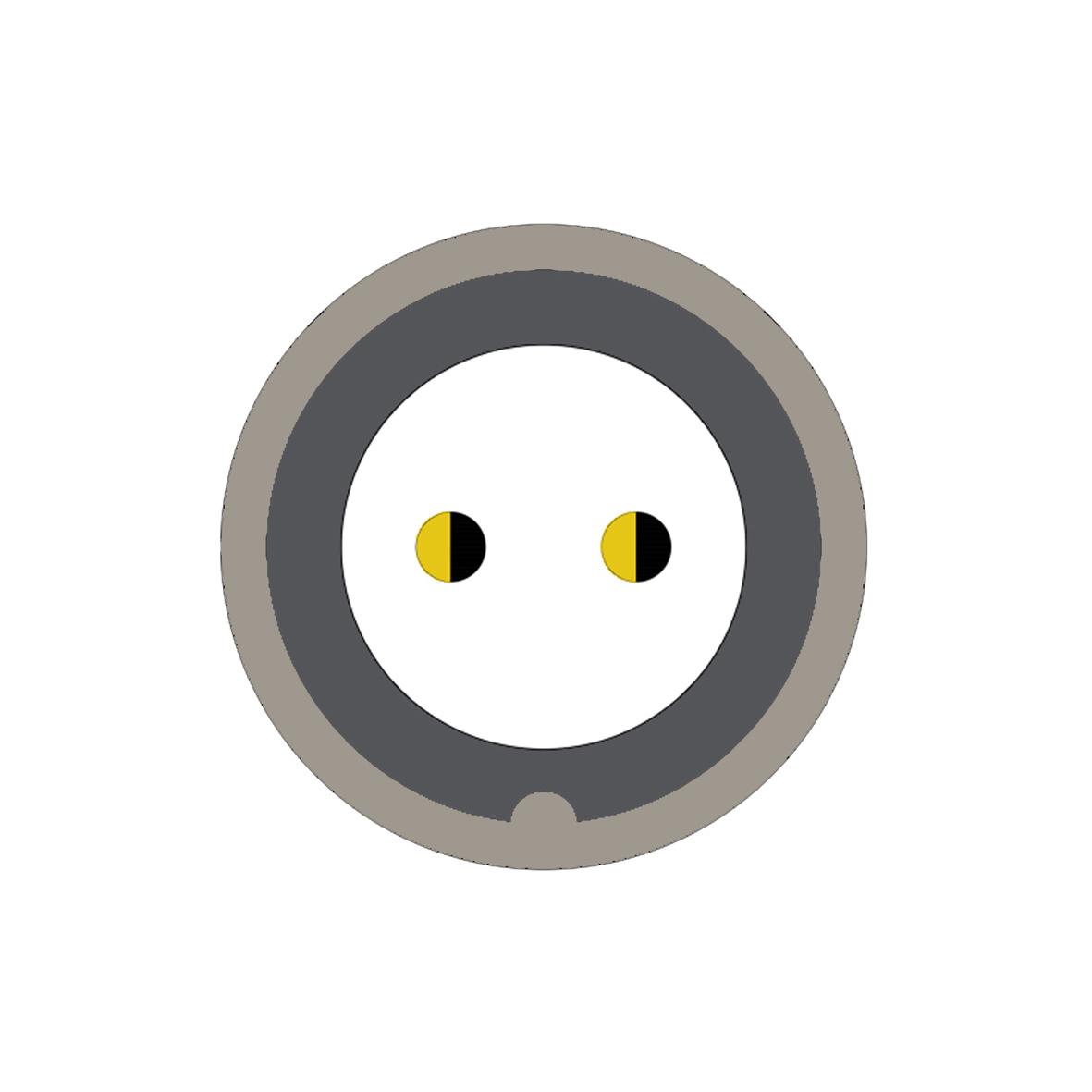 22B (0) 2 way connector