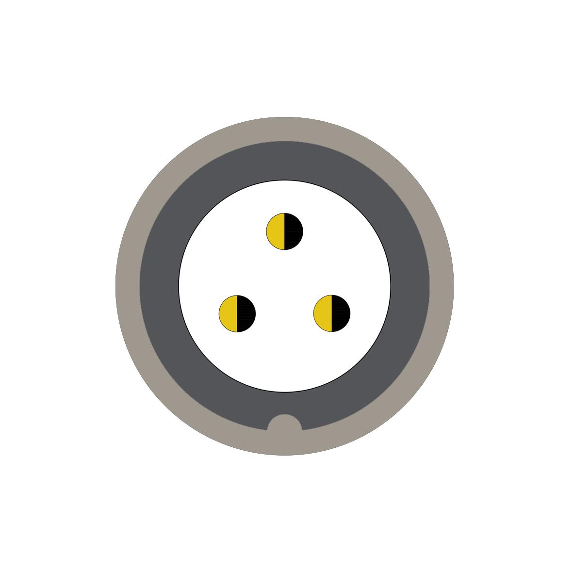 23C (0) 3 way connector