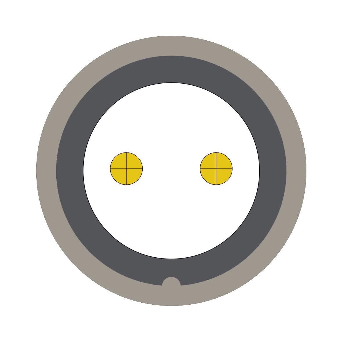 32F (0) 2 way connector