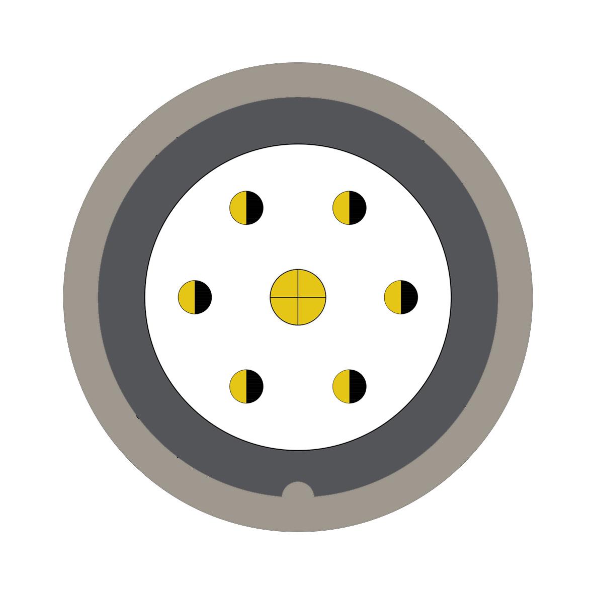 37Y (0) 7 way connector