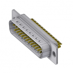 25 way male solder sub d connector