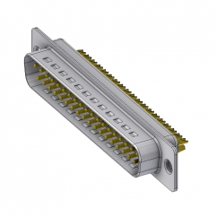 37 way male solder sub d connector