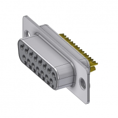 15 way female solder sub d connector
