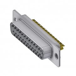 25 way female solder sub d connector