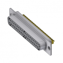 37 way female solder sub d connector