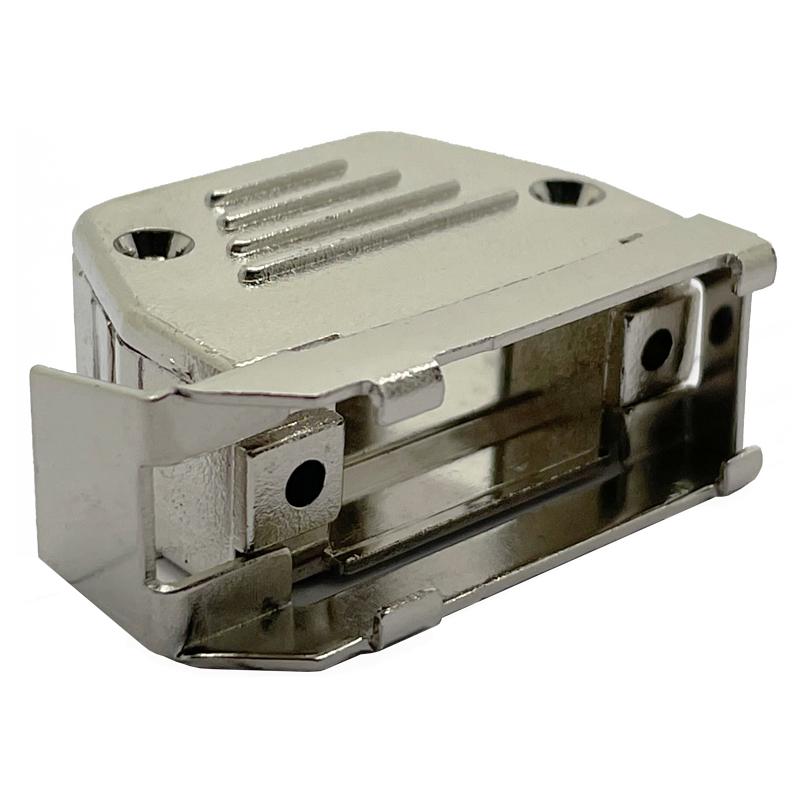 metallised slidelock hoods. Used with sub d connectors