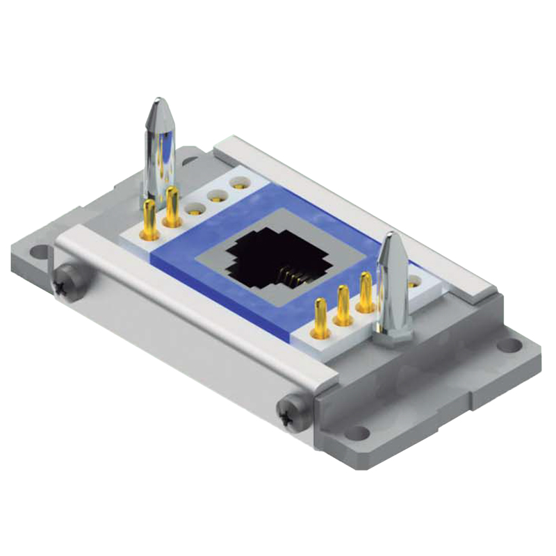 Rectangular connectors. Also known as flat floating connectors